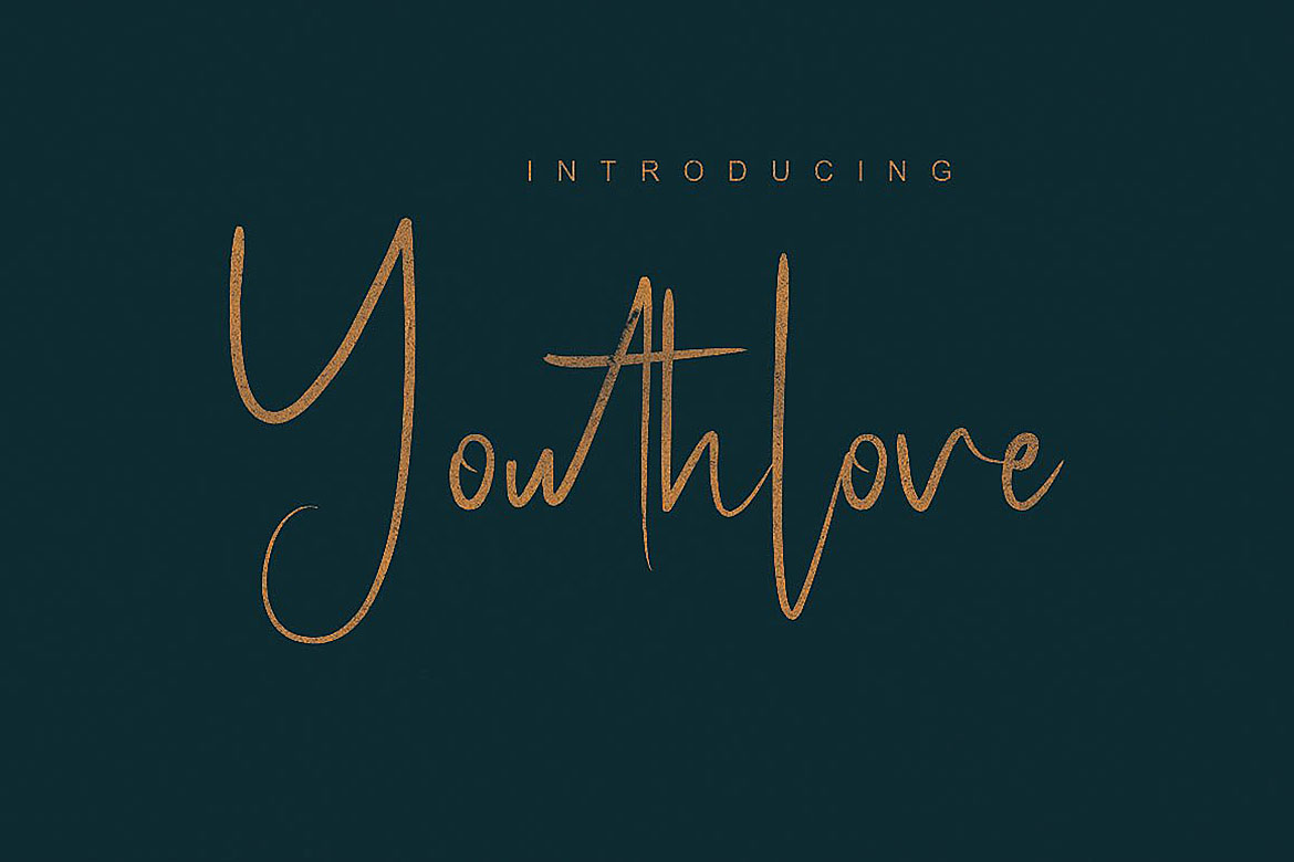 Youthlove Script Font example image 5