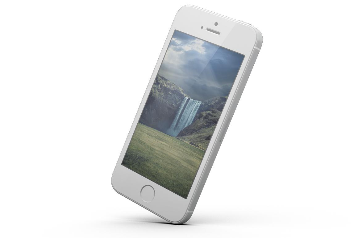 iPhone SE Mockup example image 7