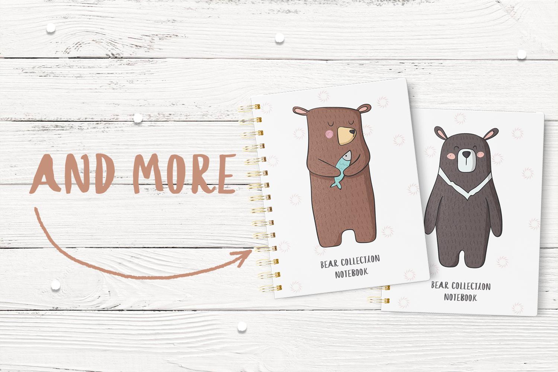Cute Bears example image 5