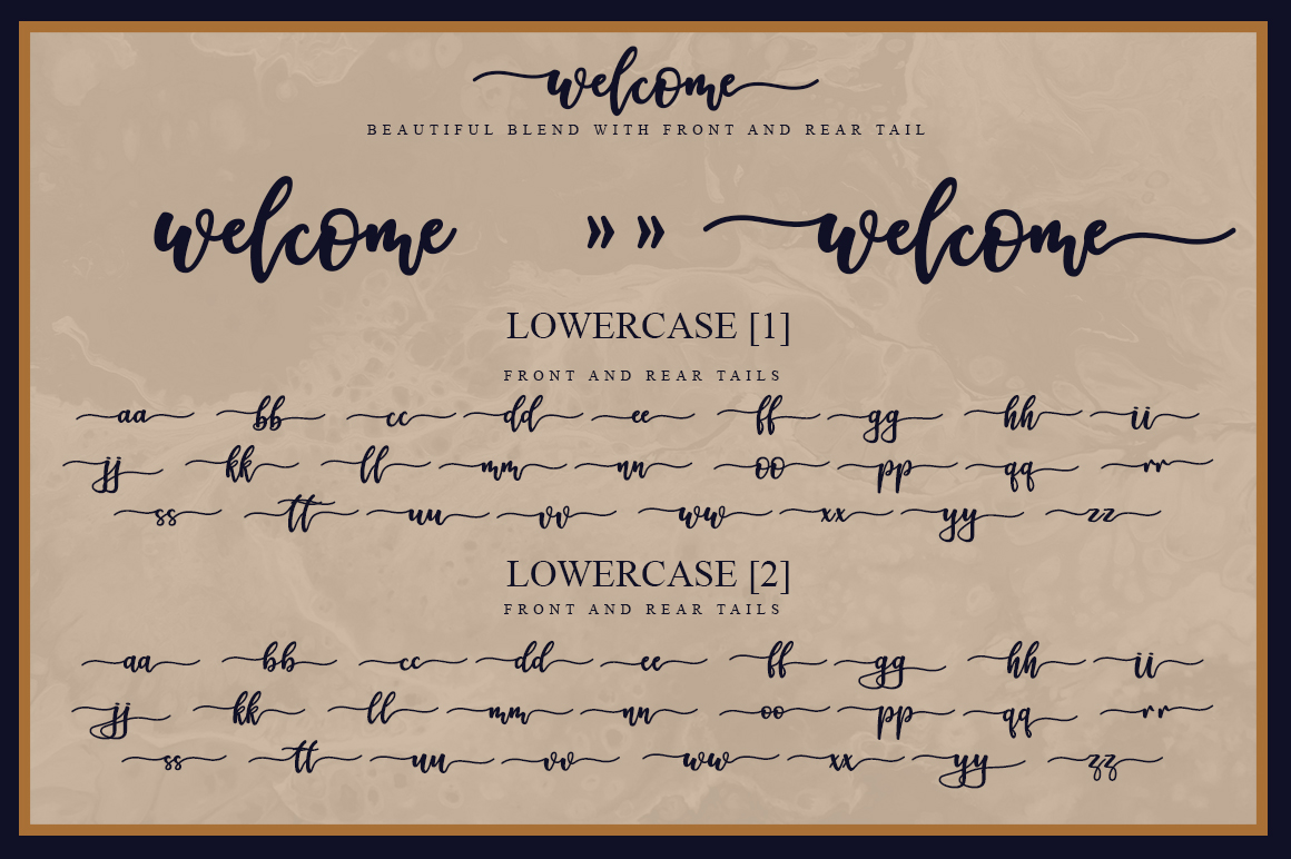 Welcome Handlettering Font example image 5