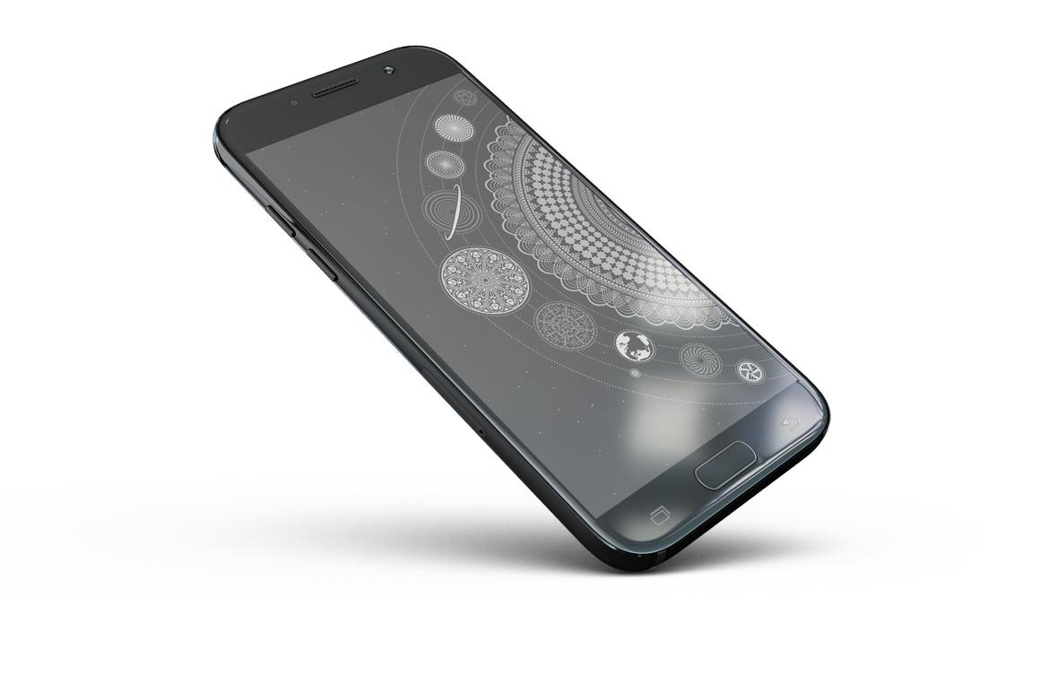 Samsung Galaxy A5 Mockup example image 11
