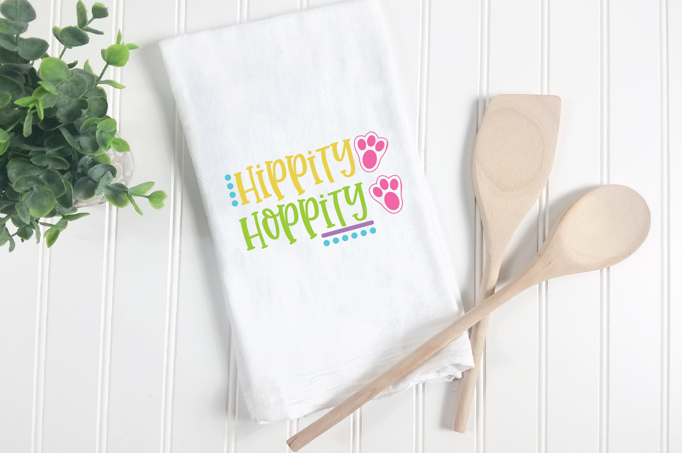 Easter SVG Cut File - Hippity Hoppity SVG DXF EPS PNG JPG AI example image 5