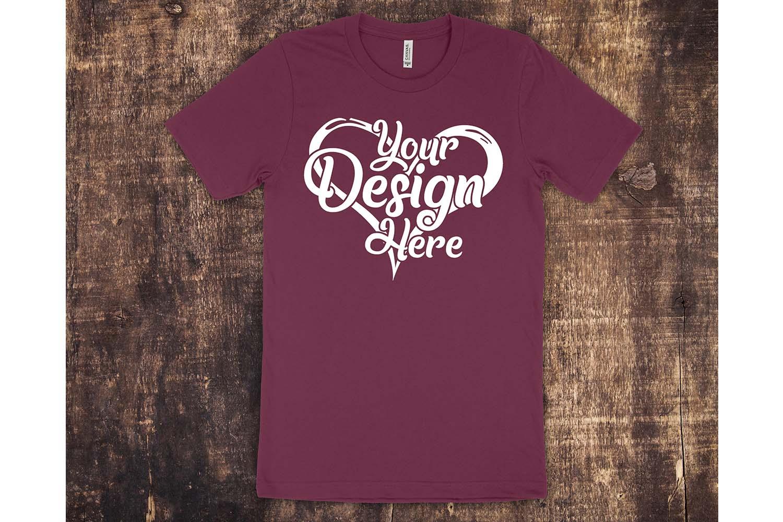 Bella Canvas 3001 Mockup Bundle T-Shirt Mock Ups 064 example image 5