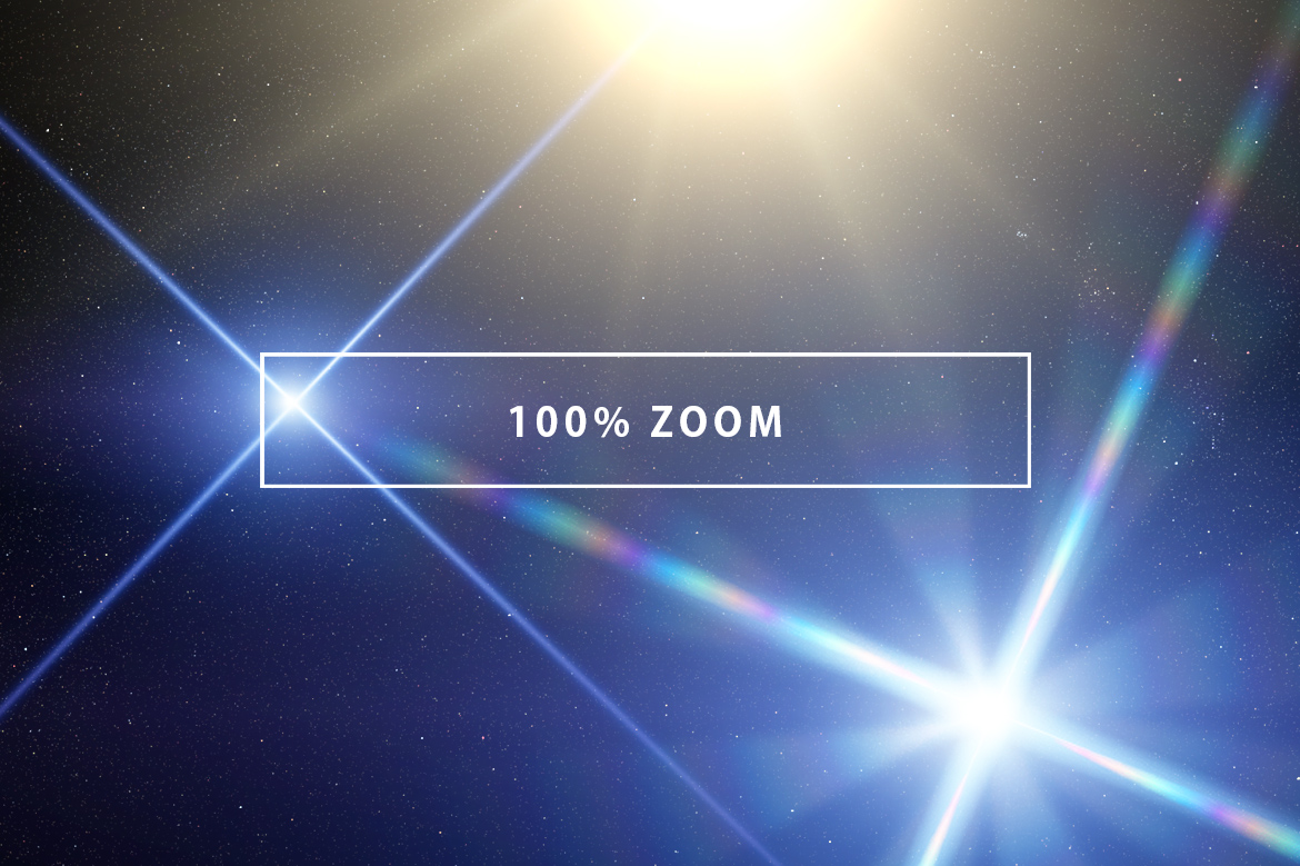 10 Optical Lens Flares Pack 1 example image 3