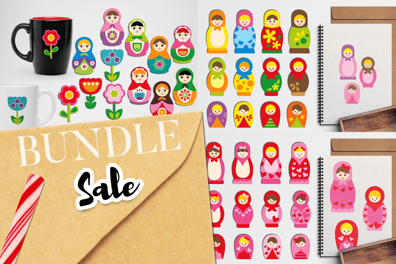 Just For Girls Clip Art Illustrations Huge Bundle example image 14
