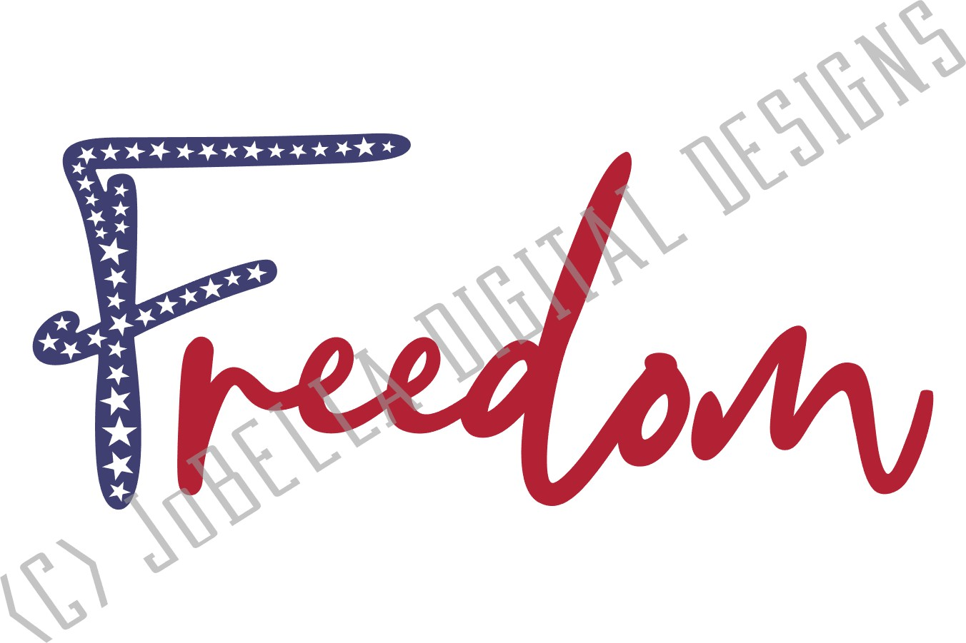 Freedom SVG & July 4th Sublimation Design and Printable example image 3
