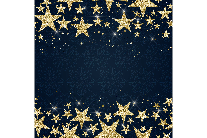 16 Seamless Glitter Star Overlay Transparent Images