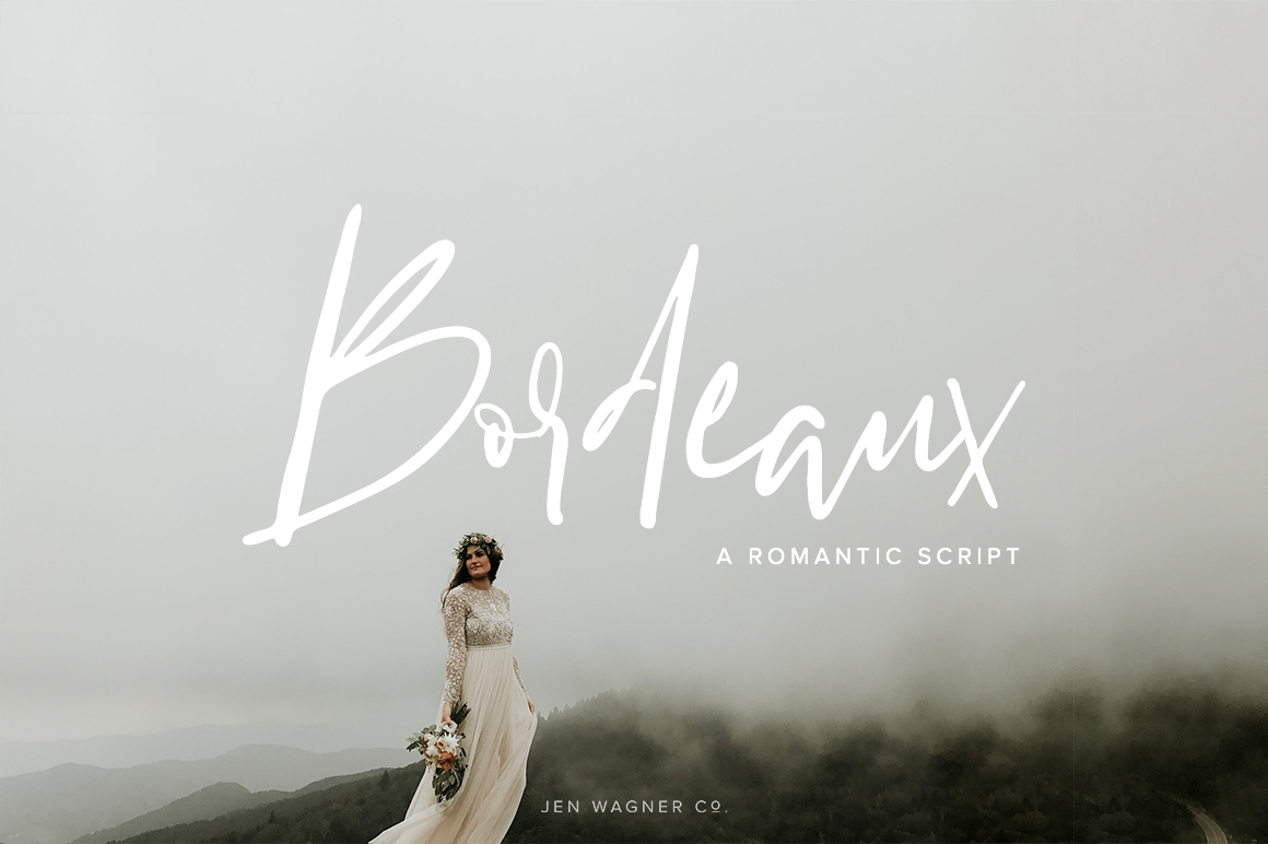 Bordeaux | A Romantic Script example image 1