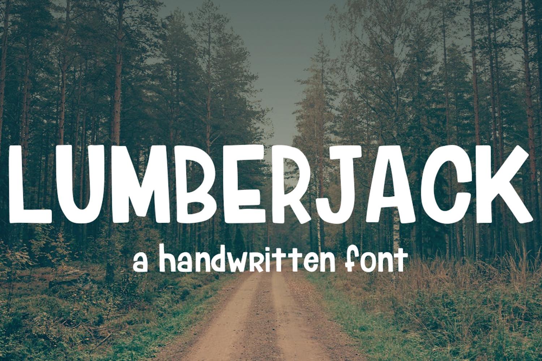 Lumberjack Font example image 1