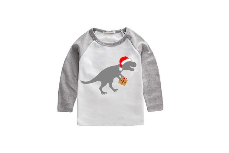 Santa Dinosaur Svg, Dinosaur Svg, Santa Saurus Svg, Dino Svg example image 2
