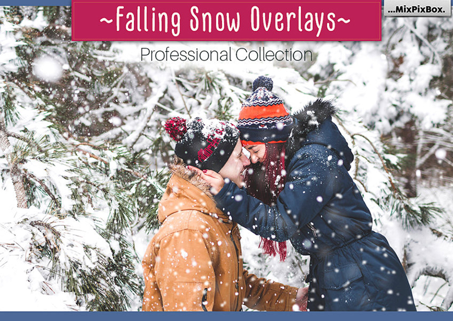 Falling Snow Overlays example image 1