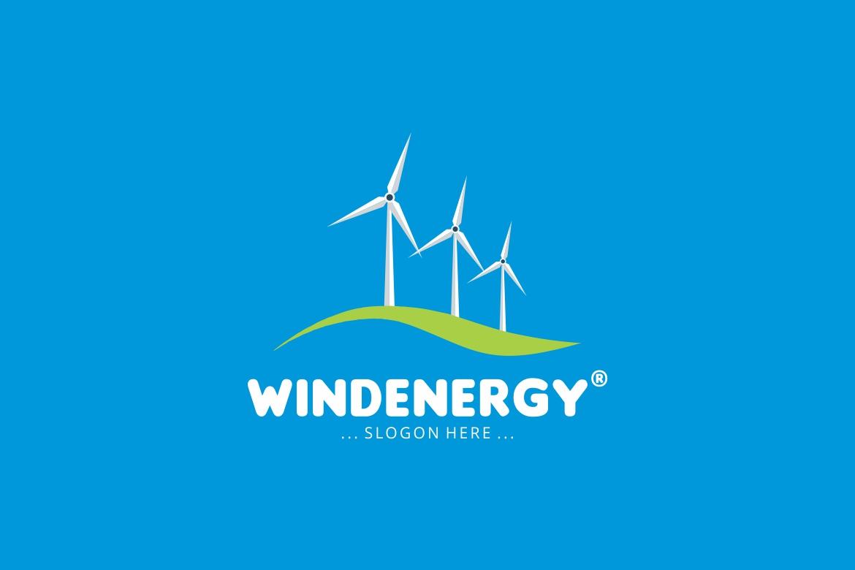 Wind Energy Logo example image 3