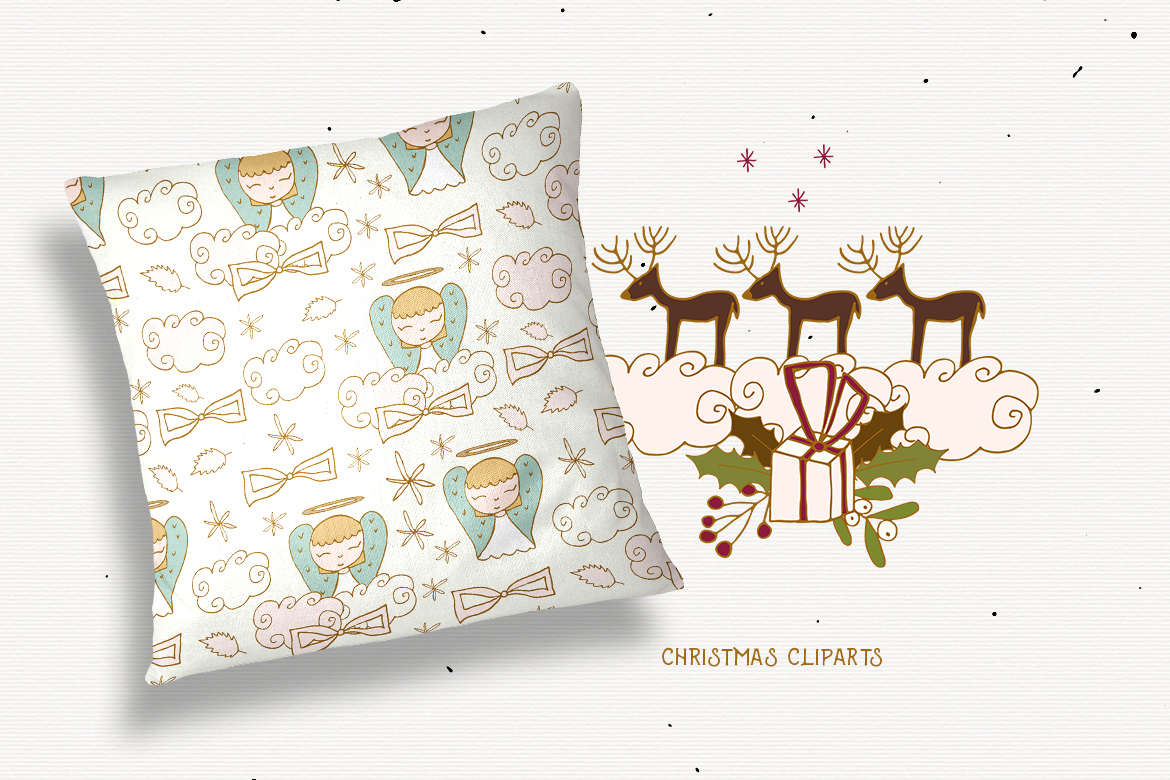 Christmas Cliparts example image 6
