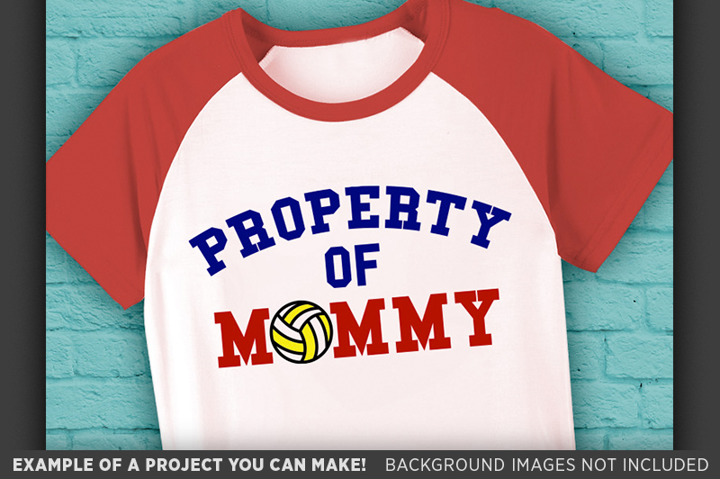 Volleyball Shirt For Kids SVG - Volleyball Shirt - 1020 example image 3