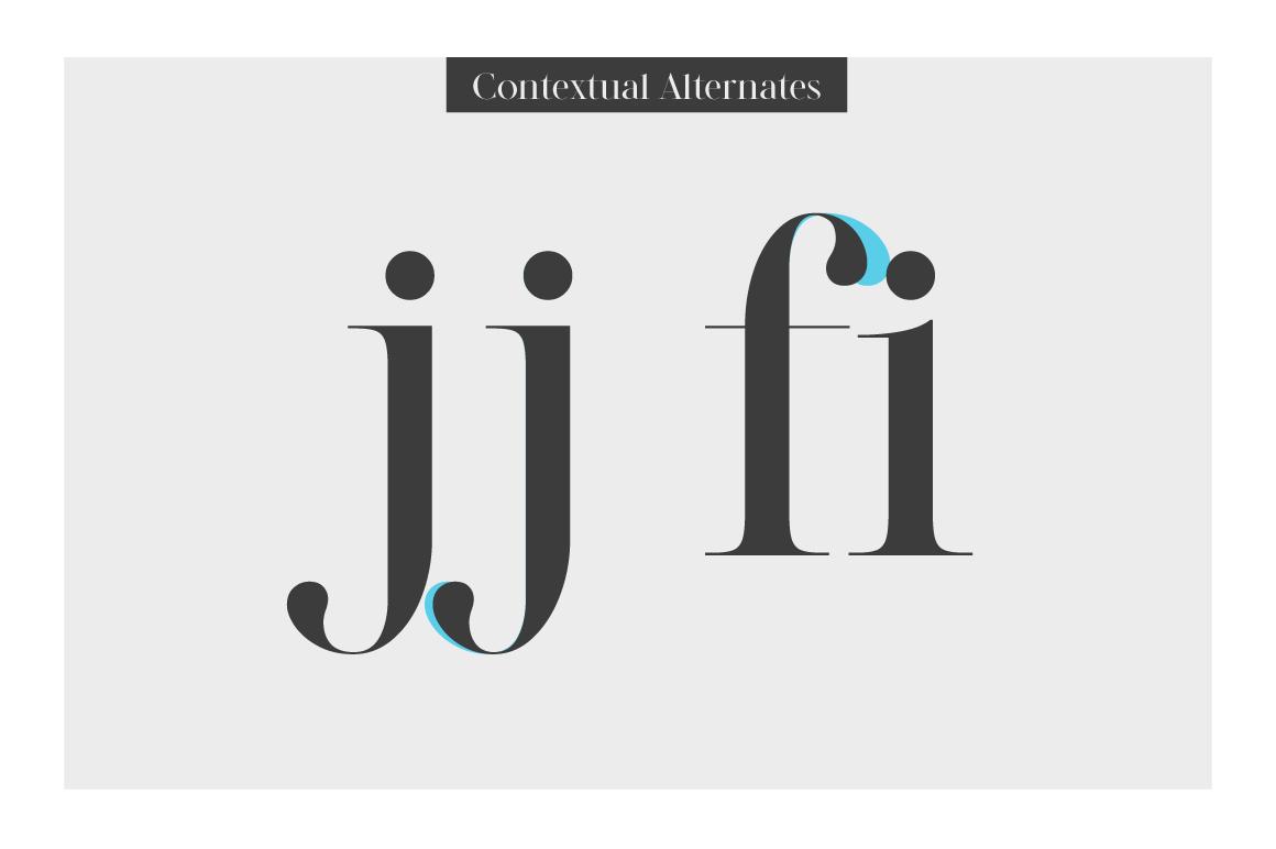LEGATUM font family example image 8