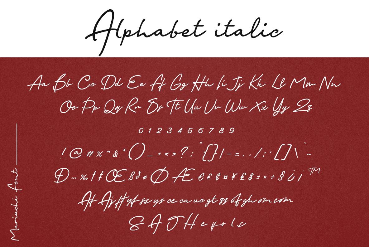 Mariachi Script example image 23