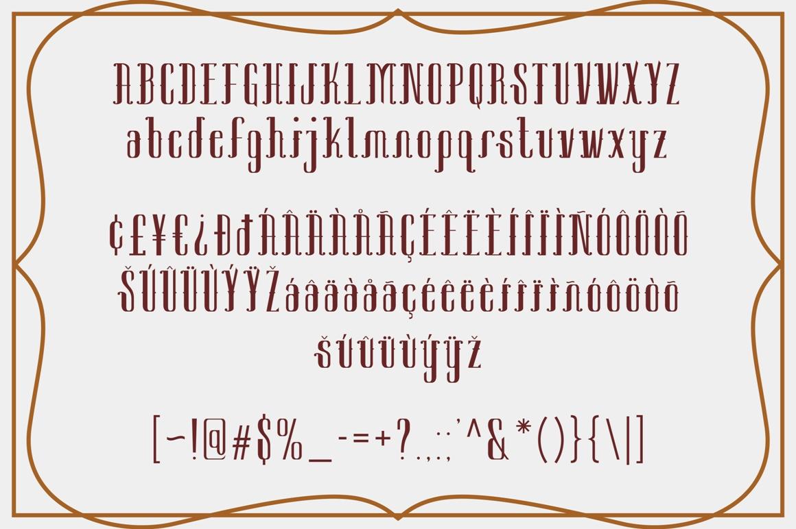 Sambeltigo Typeface example image 6