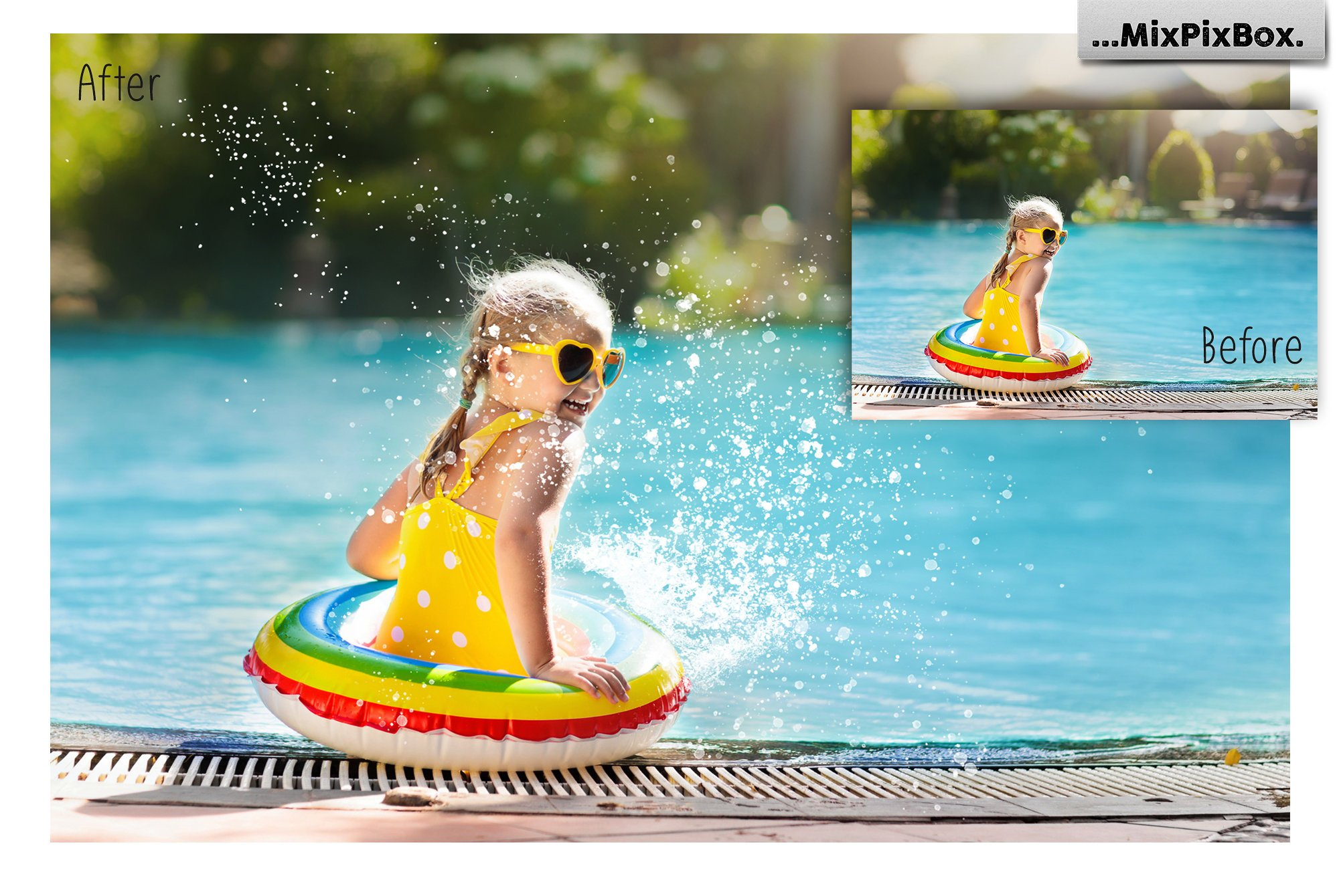 Water Splash Photo Overlays example image 4