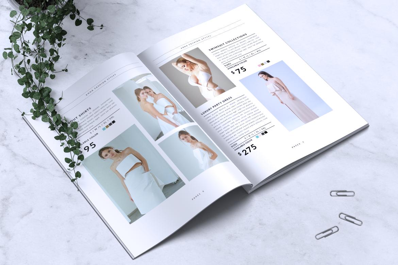 Anna Lookbook/Magazine Fashion example image 7