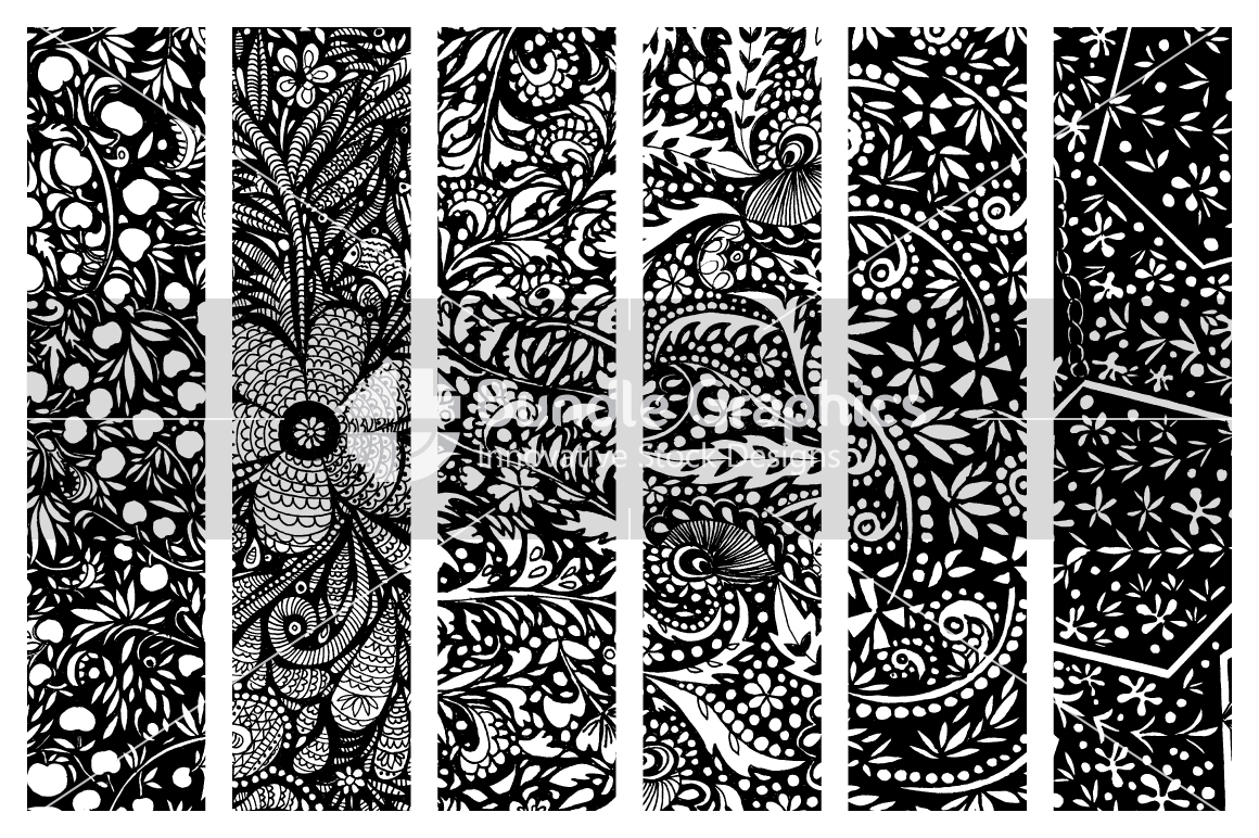 Handmade Ink Graphic Bitmap Images Pack -1 example image 2