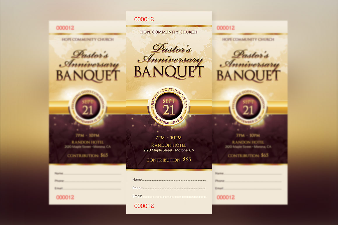 Clergy Appreciation Gala Ticket example image 2