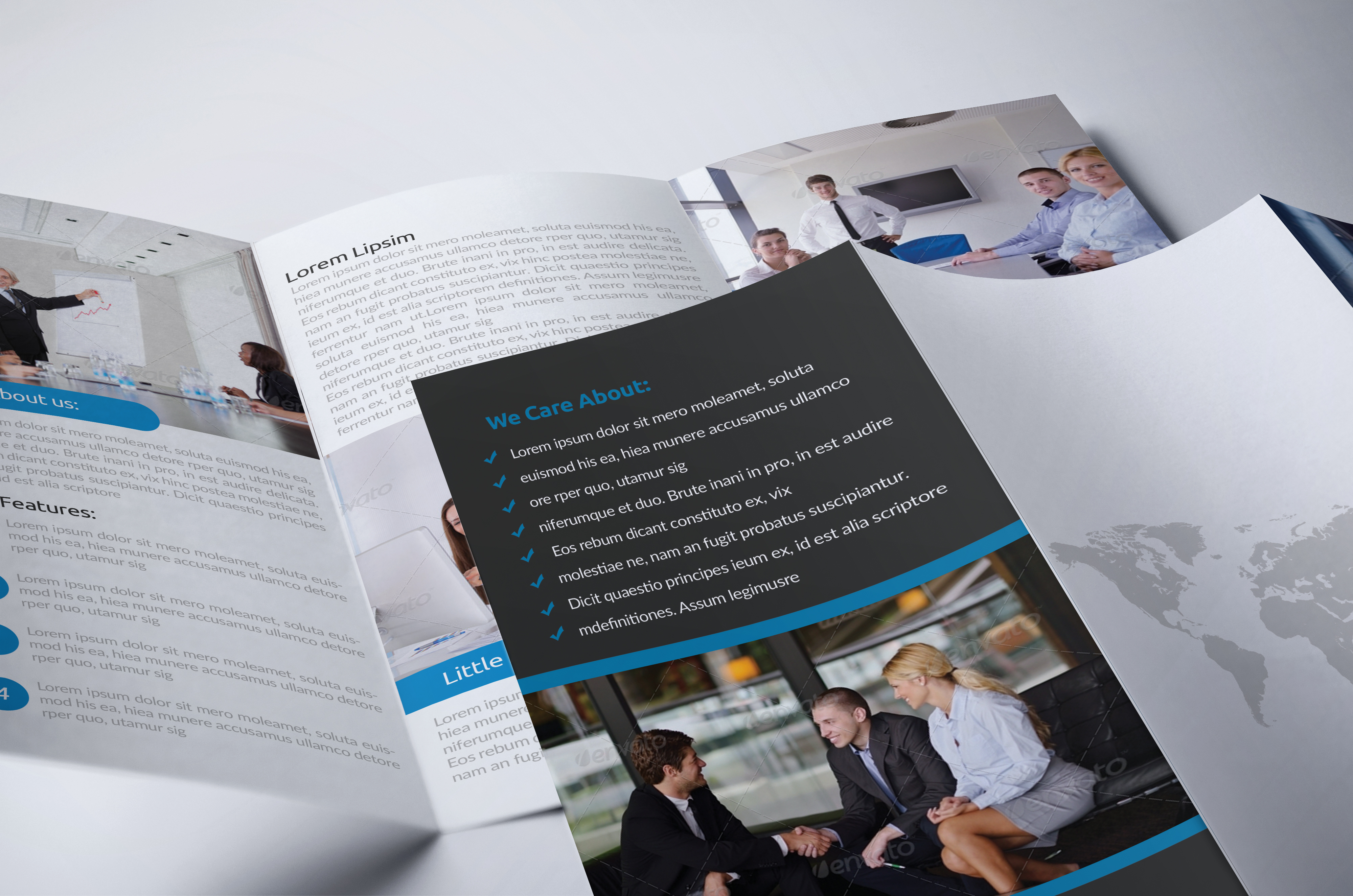 Business Innovation Trifold Brochure example image 4