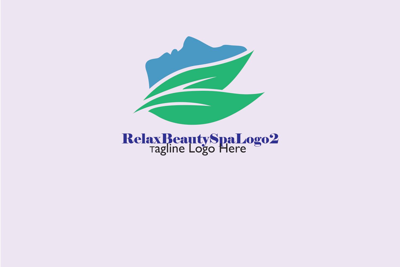 Premium Relax Beauty Spa Logo 2 example image 3