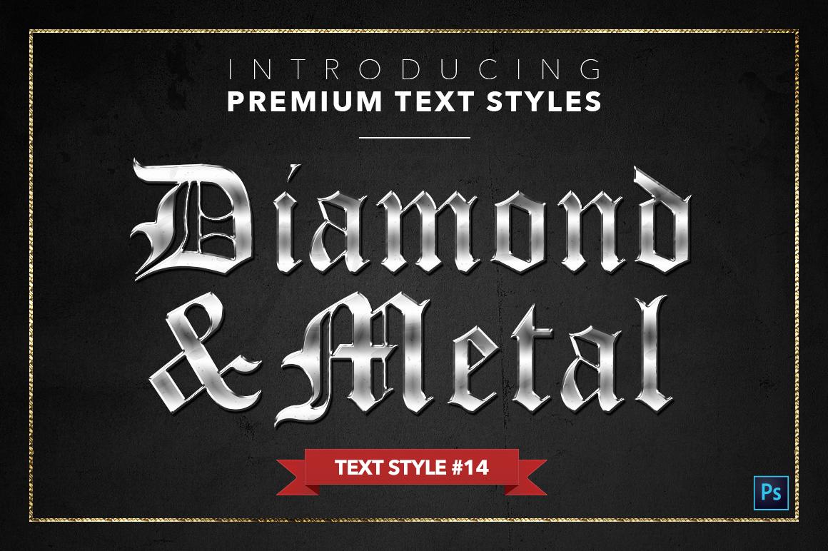 Diamond & Metal #1 - 15 Text Styles example image 15