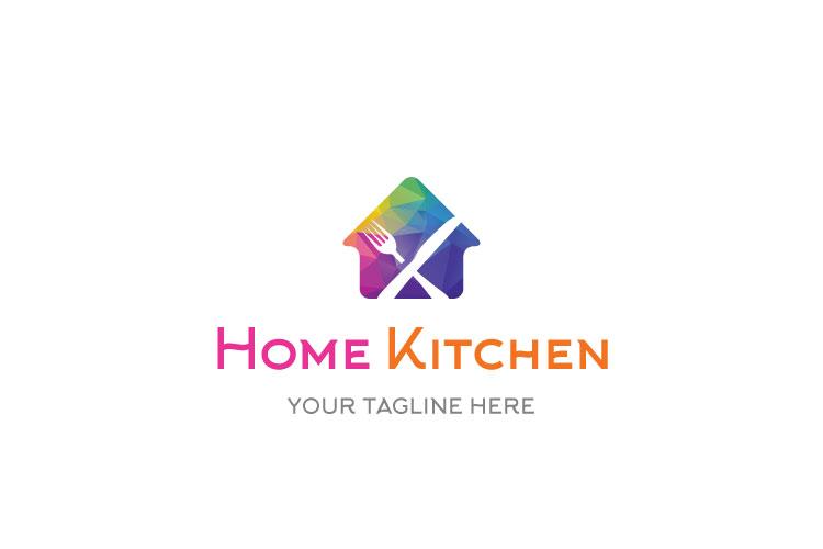 Fork & Knife cafe, Organic Food Restaurant Logo example image 1