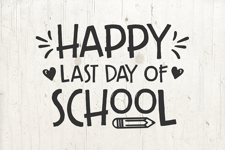 Last day of School svg, school sign, end of school svg example image 1