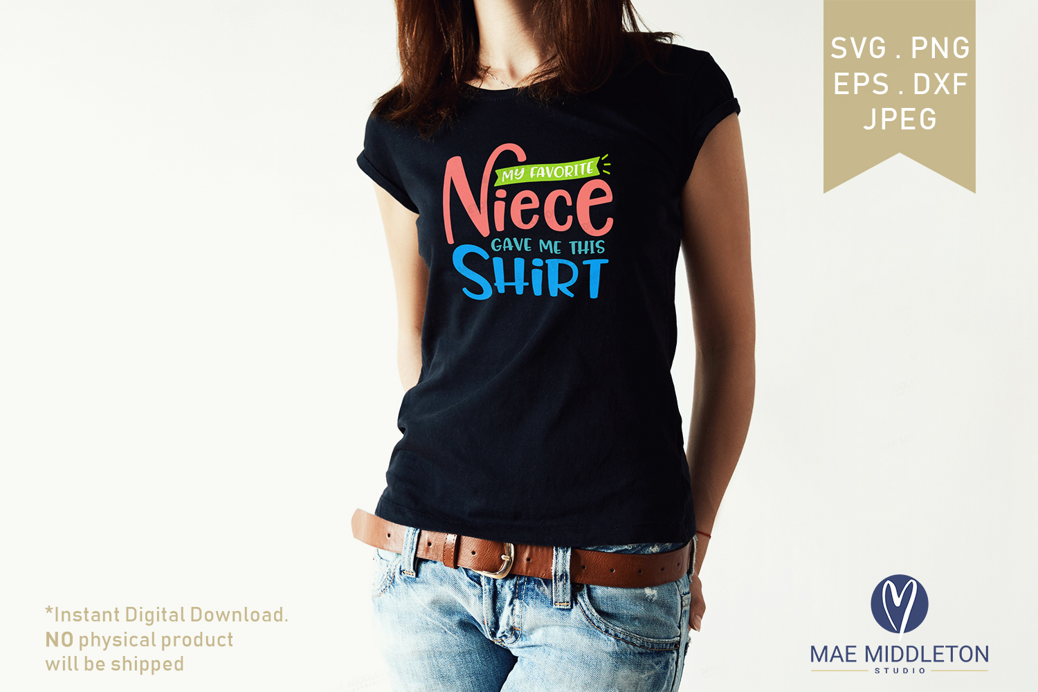 My Favorite... Gave Me This Shirt SVG Bundle example image 10