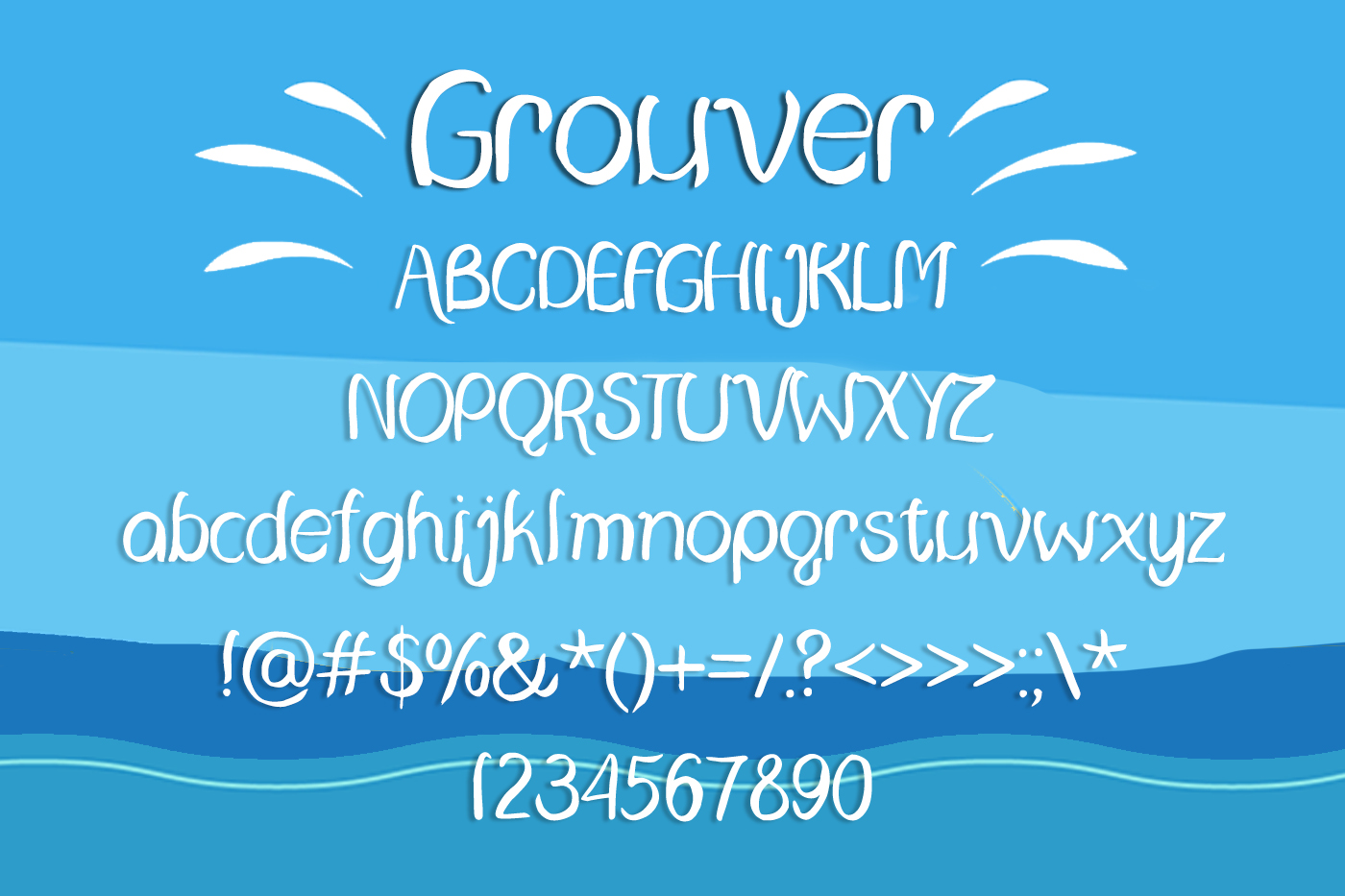 Grouver Font example image 2