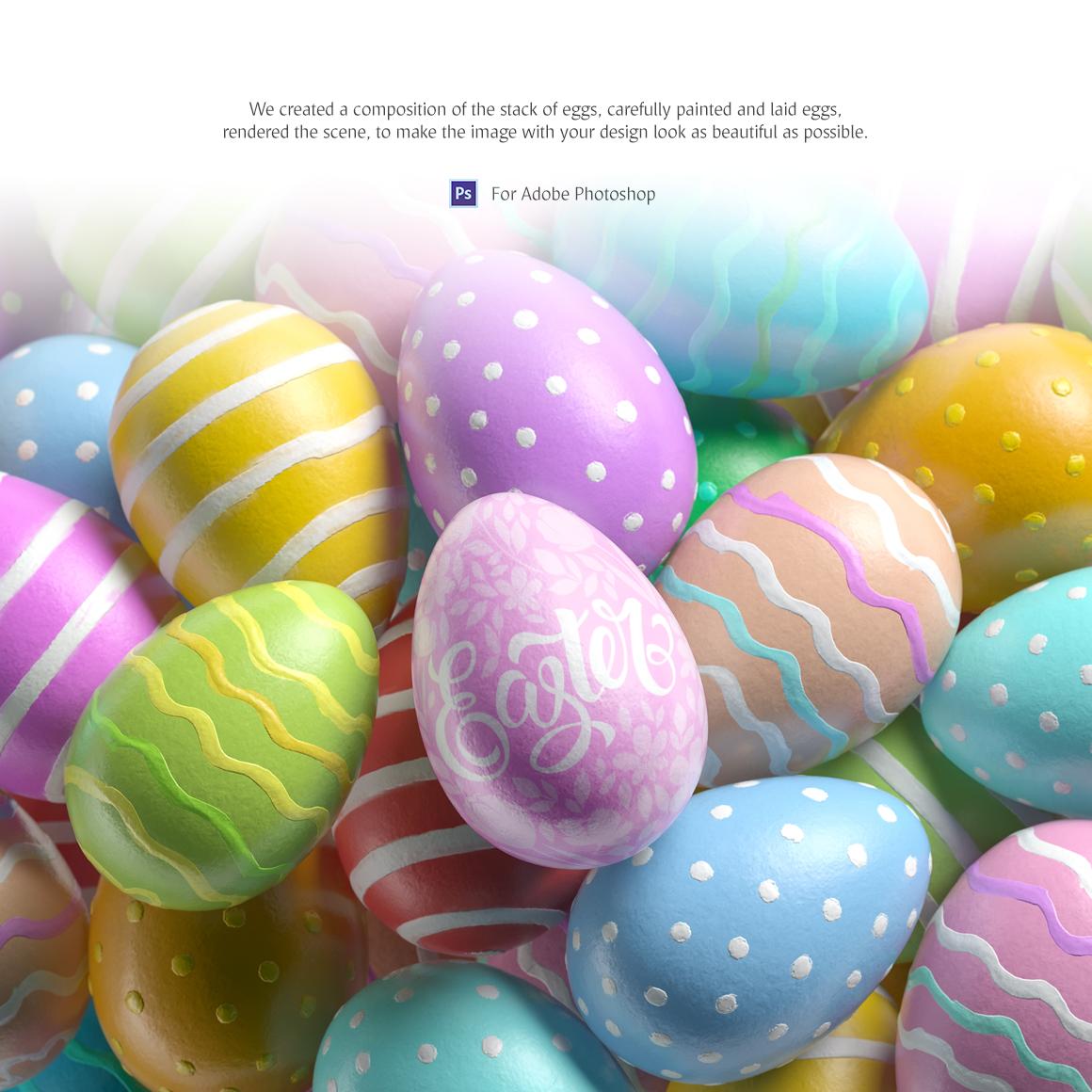Easter Egg Mockup example image 3