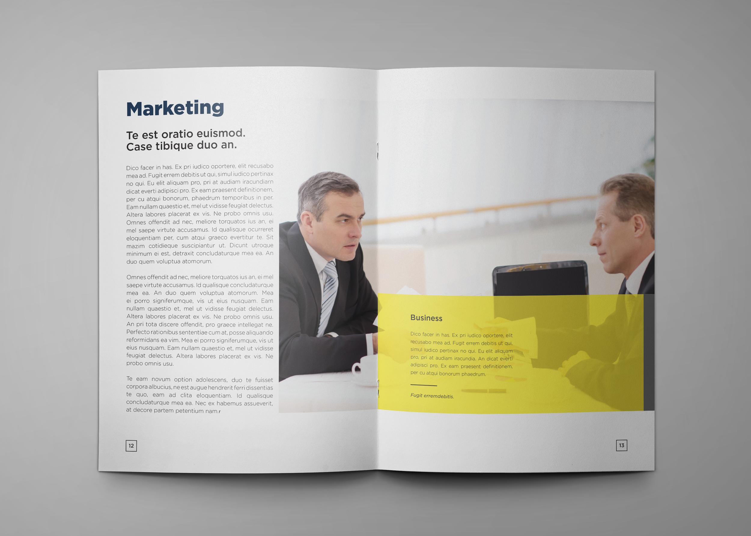 Corporate Company Profile example image 8