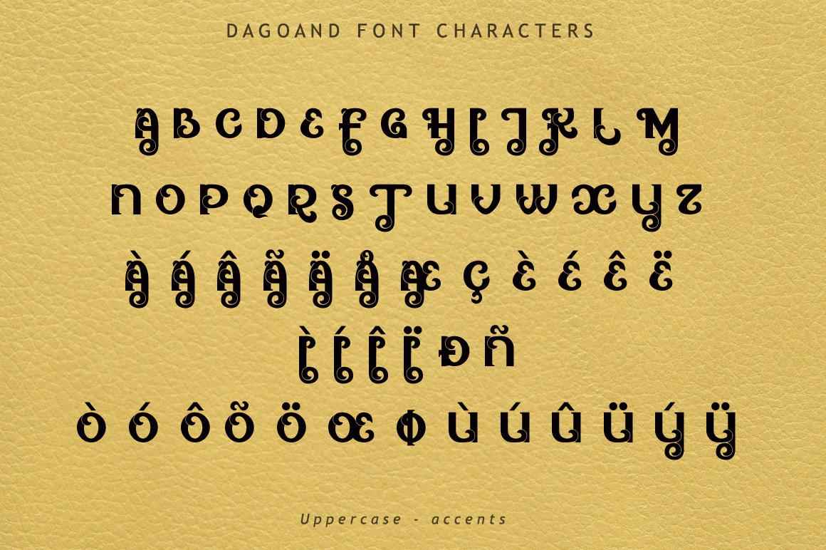 Dagoand Font example image 5