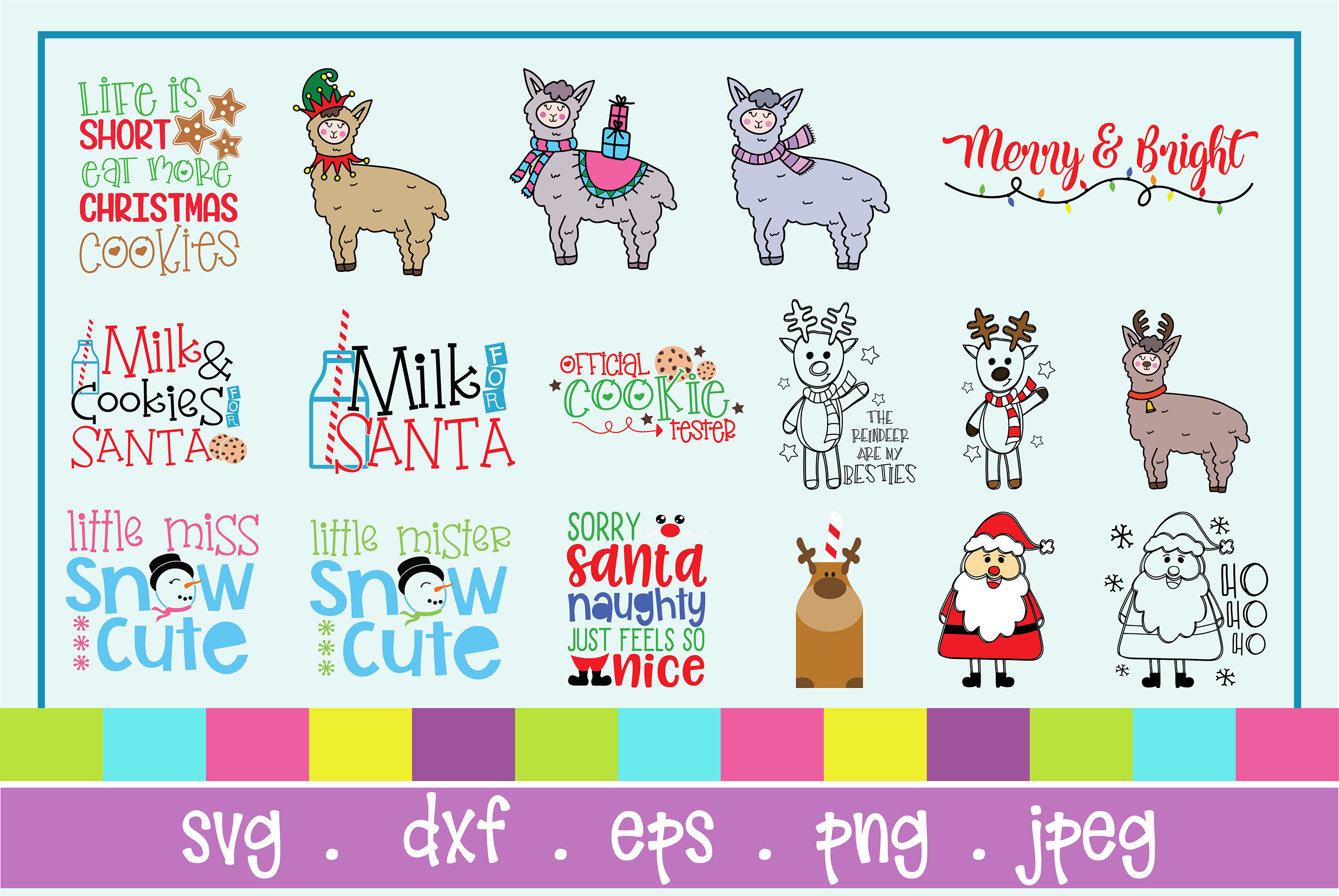 The Huge SVG Bundle Vol 2, 500 Cutting files, SVG, DXF,PNG example image 25