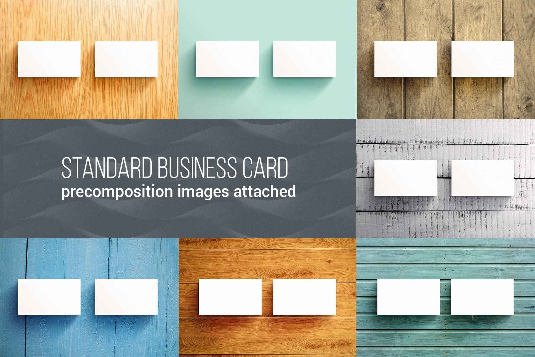 Business Card MockUps Bundle + Bonus example image 4