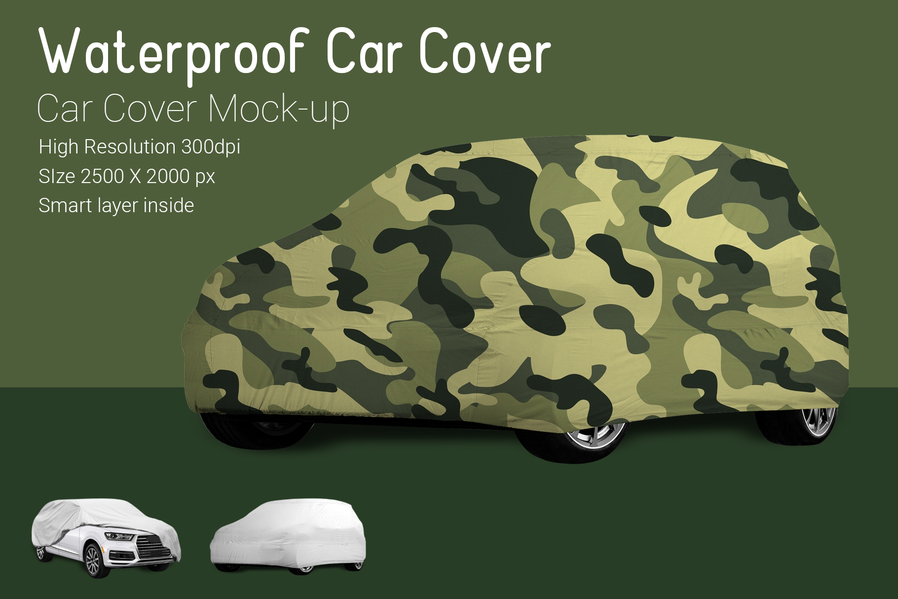 Car Cover Mock-Up example image 3