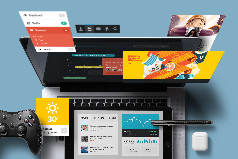 App / UI Kit Mockups example image 10
