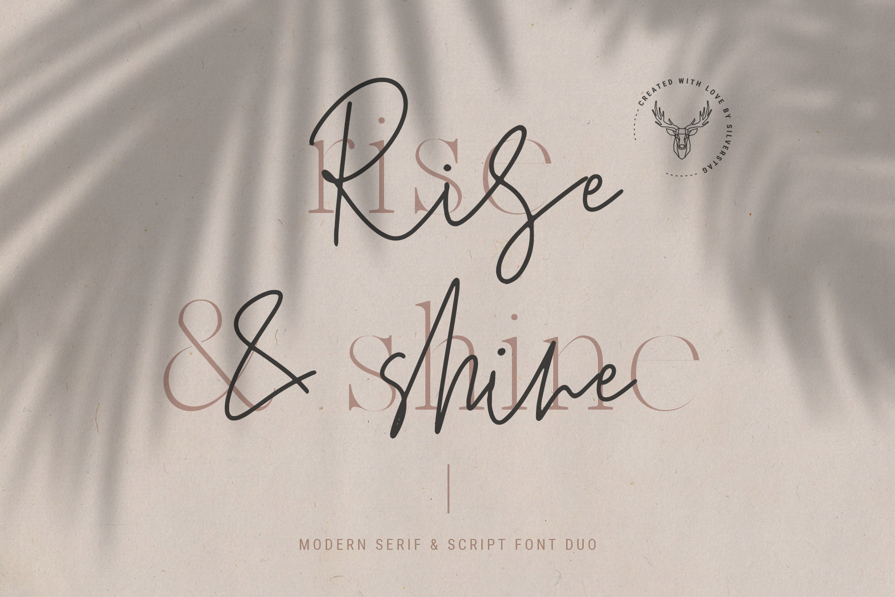 Marseille & Amsterdam - Modern Serif & Signature Font Duo example image 3