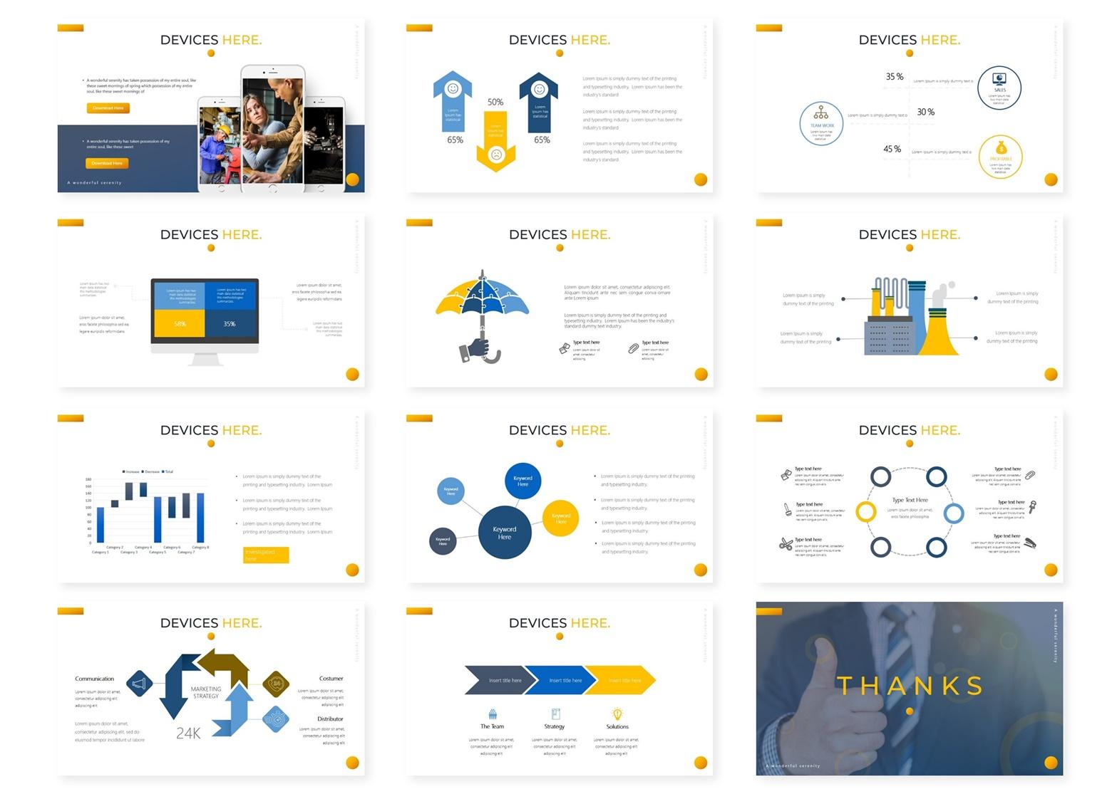 Buildin | Powerpoint, Keynote, GoogleSlides Template example image 6