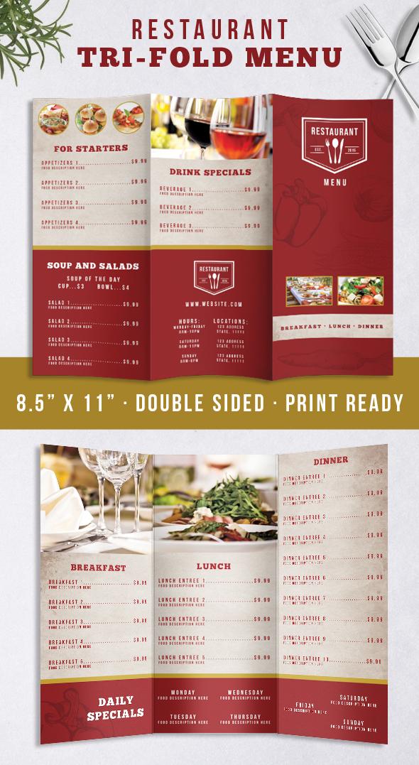 Restaurant Identity Bundle example image 7