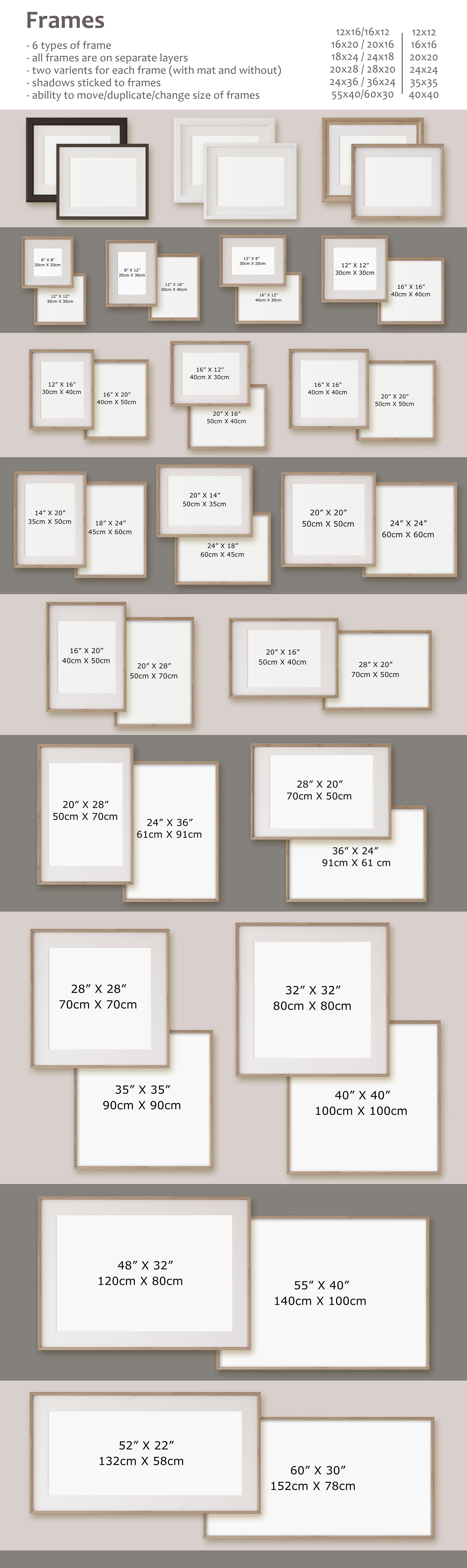 Farmhouse Style. Wall&Frames Mockup. example image 10