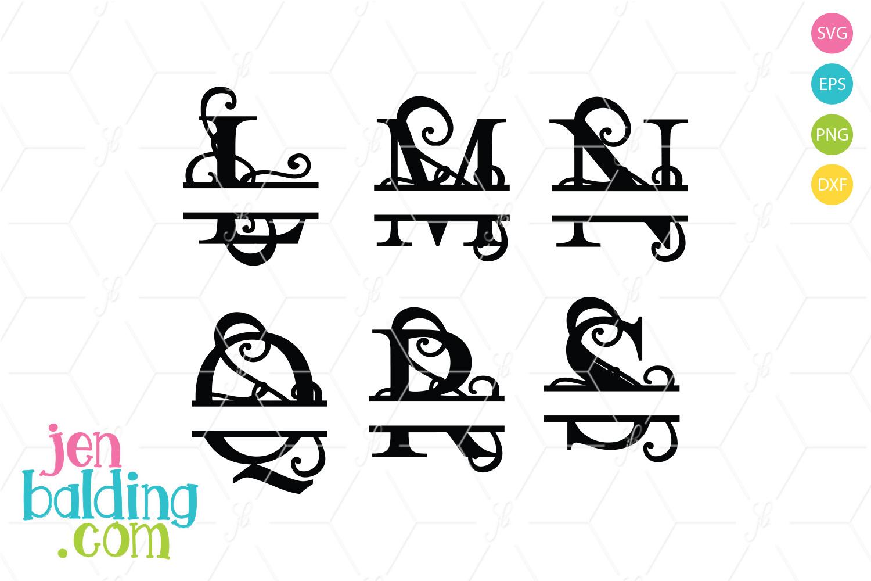 Split Monogram 4 example image 1