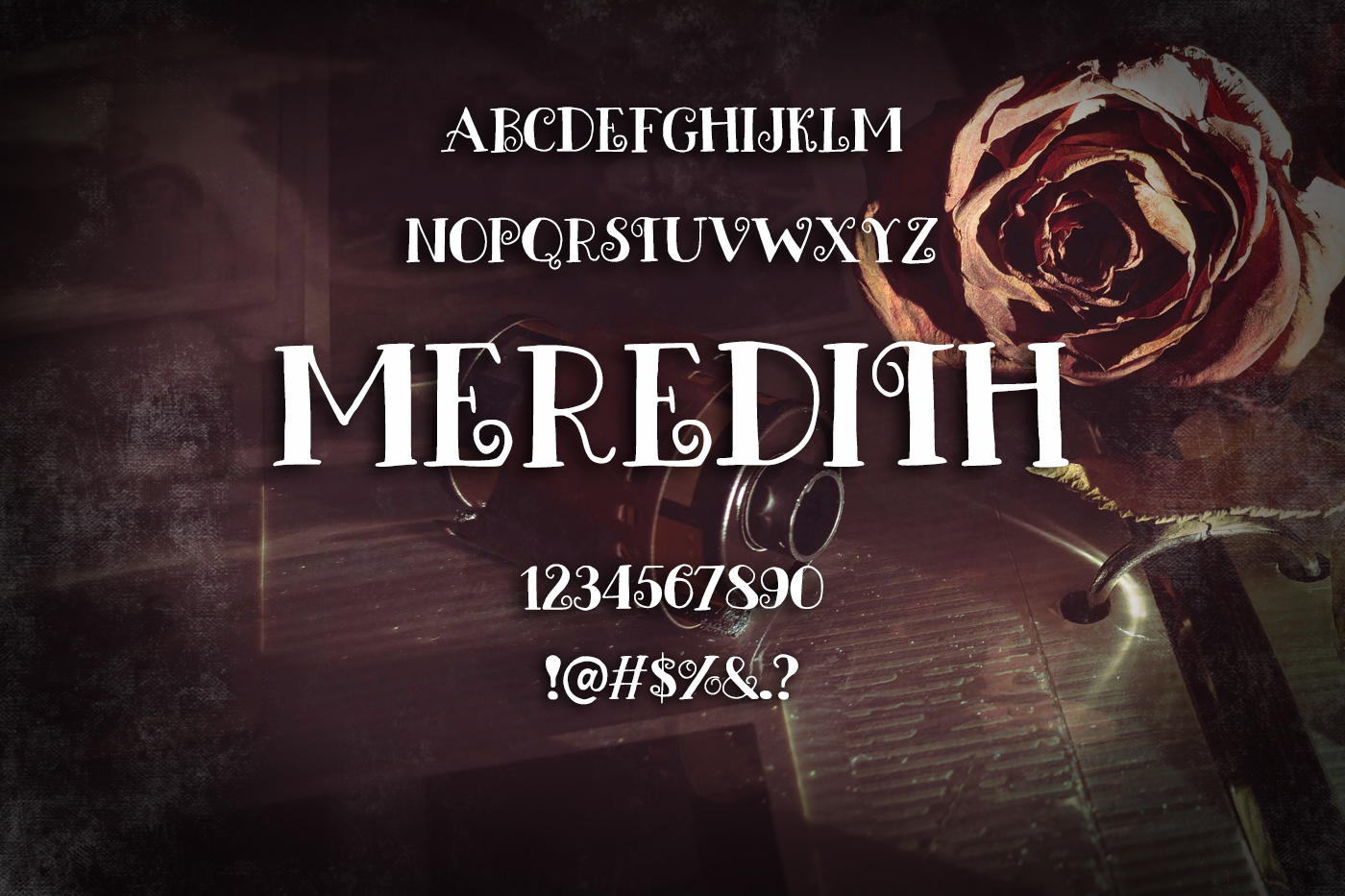 Meredith Font example image 2