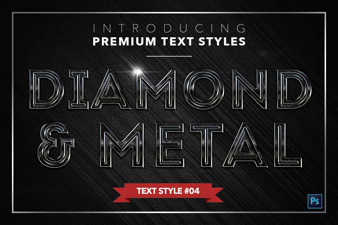 Diamond & Metal #2 - 16 Text Styles example image 5