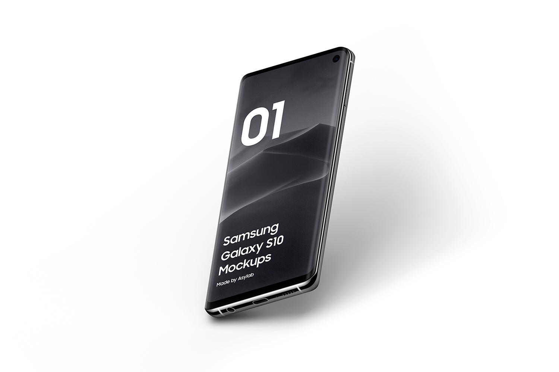 Samsung Galaxy S10 - 21 Mockups - 5K - PSD example image 19