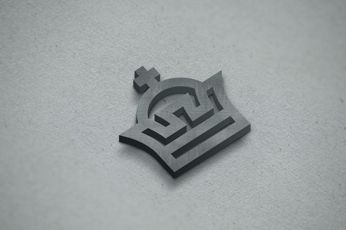 3D Logo Mockup example image 5