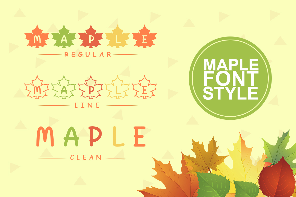 Maple Font example image 3