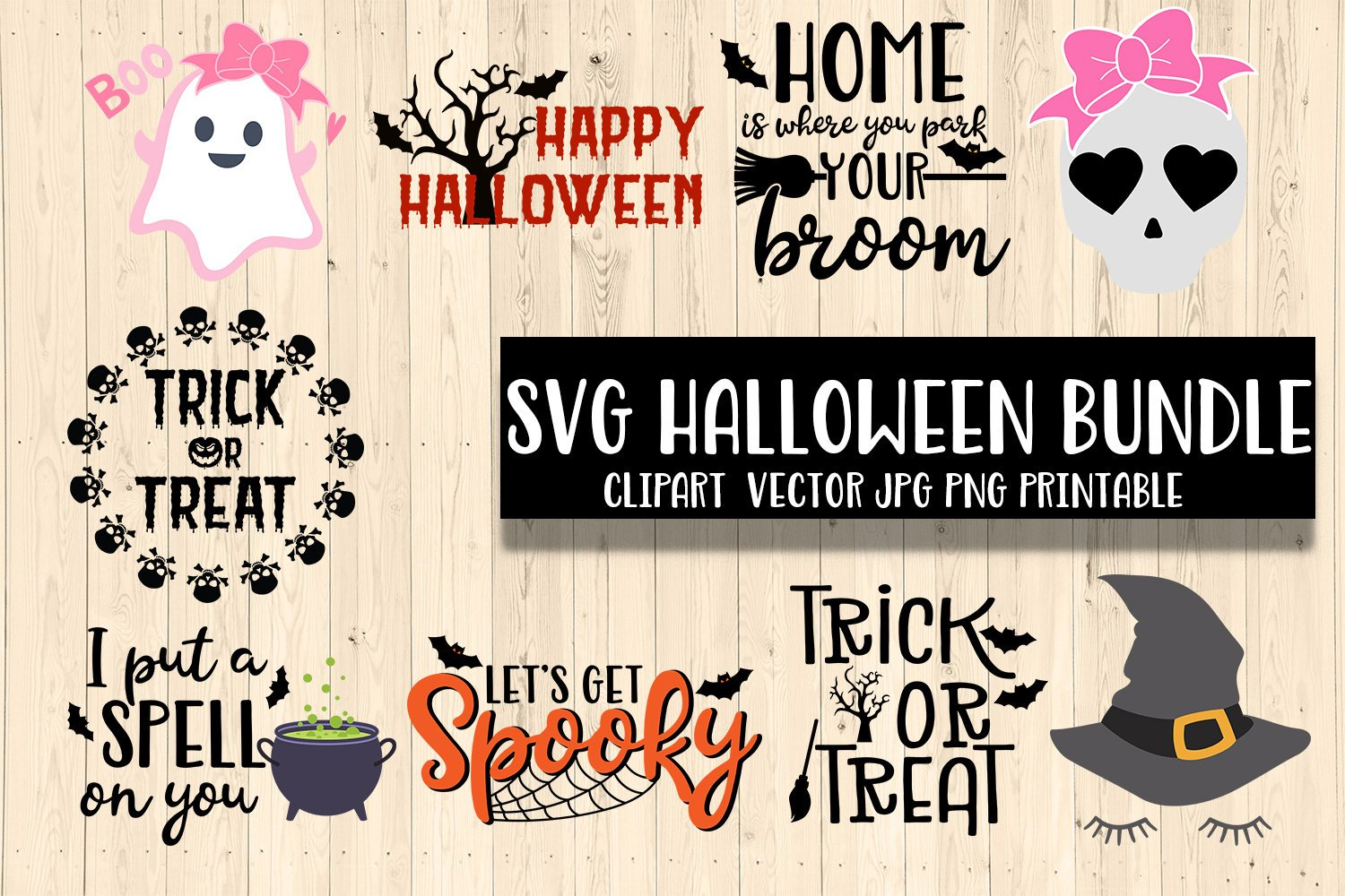 Halloween Thanksgiving Christmas Clipart.Christmas Halloween Thanksgiving Bundle Svg Dxf Clipart